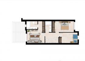 Plan2_Green_Golf_townhouses_Estepona_First Floor