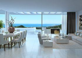 Las Jacarandas - Living Room